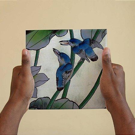Azulejo Decorativo Pássaro Vietnamita