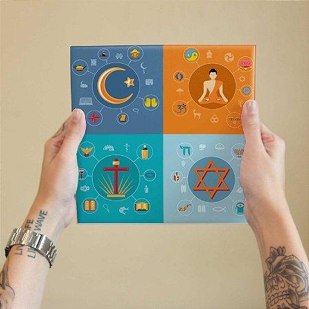 Azulejo Decorativo Crenças Divinas