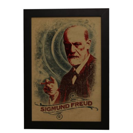 Quadro Decorativo Sigmund Freud