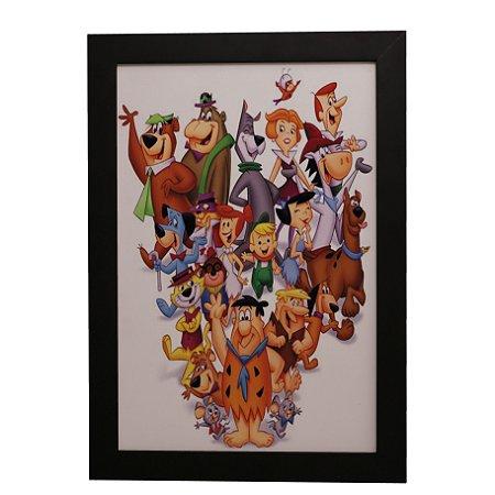 Quadro Decorativo Hanna-Barbera