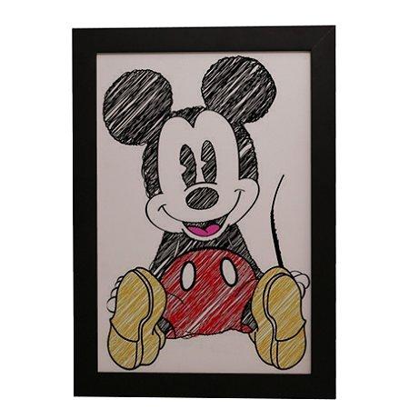 Quadro Decorativo Mickey Mouse #1