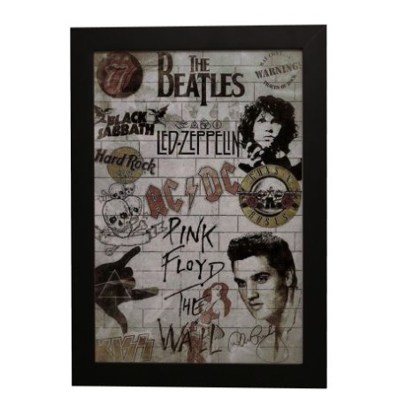 Quadro Decorativo Rock 'N' Roll