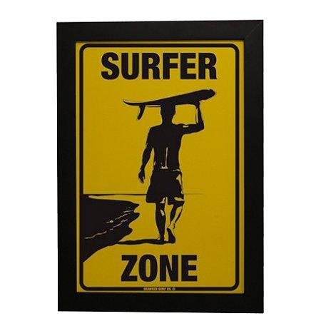 Quadro Decorativo Surfer Zone