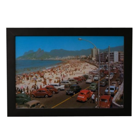 Quadro Decorativo Copacabana Anos 70