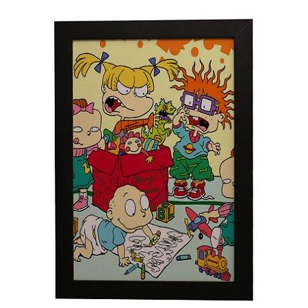 Quadro Decorativo Rugrats: Os Anjinhos