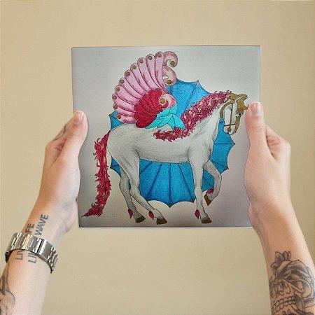 Azulejo Decorativo Arte Cavalo