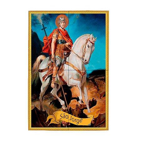 Mosaico de Azulejo Personalizado São Jorge