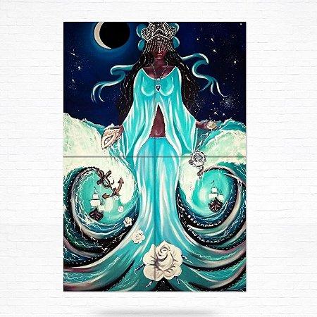 Painel Decorativo de Azulejo Iemanjá #4