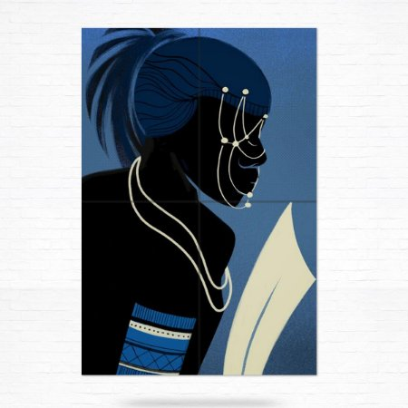 Painel Decorativo de Azulejo Oxala