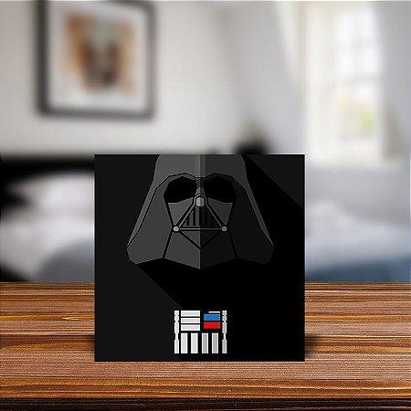 Azulejo Decorativo Minimalista Darth Vader