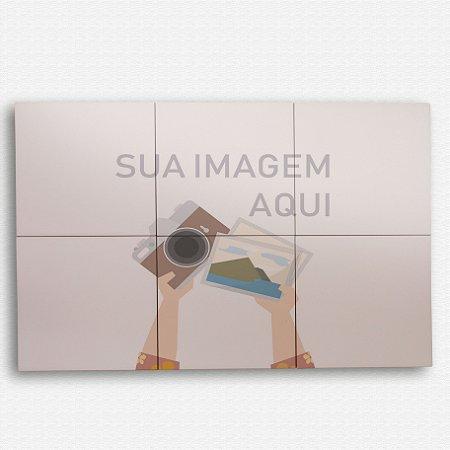 Painel Decorativo de Azulejo 40x60cm