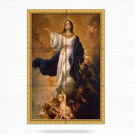 Painel Decorativo de Azulejo Assunção de Nossa Senhora