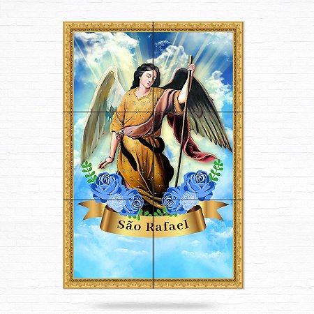 Painel Decorativo de Azulejo São Rafael Arcanjo #1