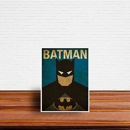 Azulejo Decorativo Minimalista Batman