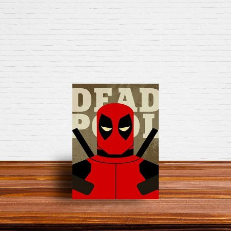 Azulejo Decorativo Deadpool