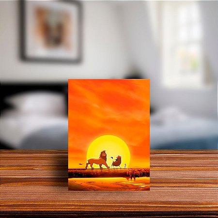 Azulejo Decorativo Por do Sol Rei Leão