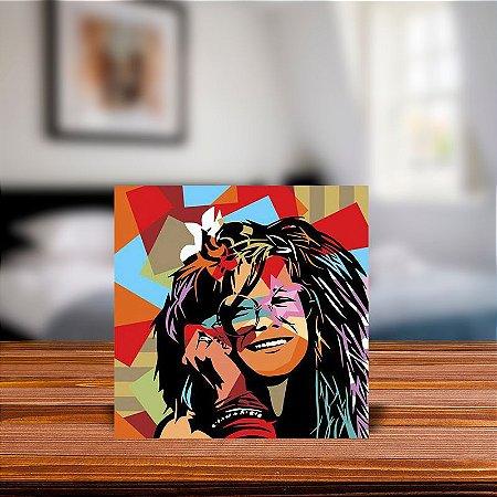 Azulejo Decorativo Janis Joplin
