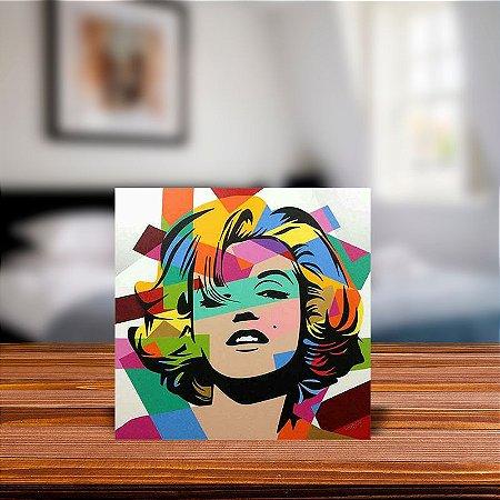 Azulejo Decorativo Marilyn Monroe Abstrato
