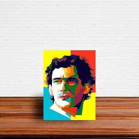 Azulejo Decorativo Ayrton Senna