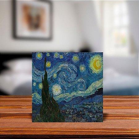 Azulejo Decorativo Noite Estrelada Van Gogh