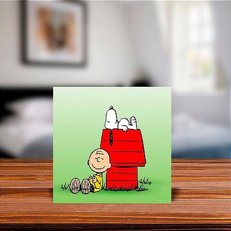 Azulejo Decorativo Charlie Brown e Snoopy