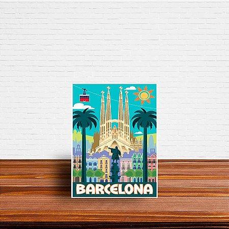 Azulejo Decorativo Barcelona