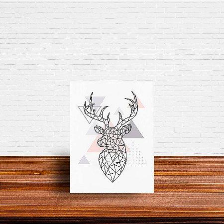 Azulejo Decorativo Geométrico Cervo