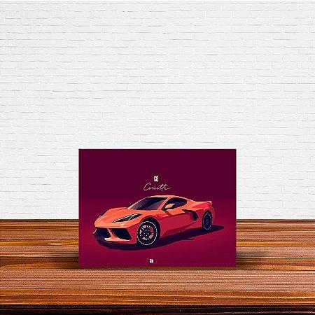 Azulejo Decorativo Corvette
