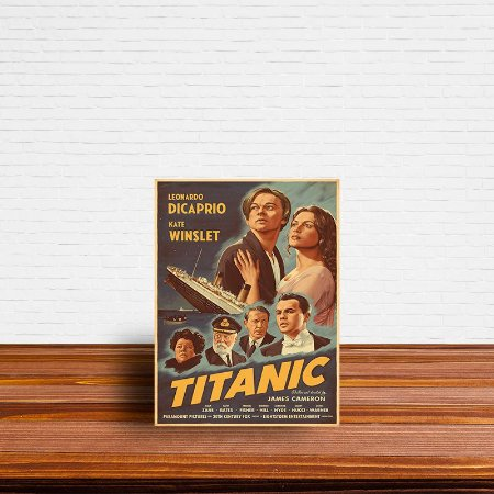 Azulejo Decorativo Titanic