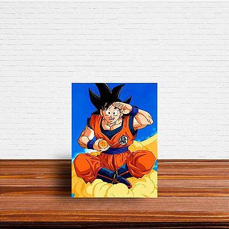 Azulejo Decorativo Goku