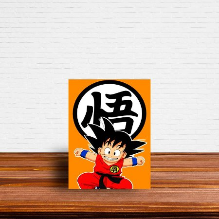 Azulejo Decorativo Goku Criança