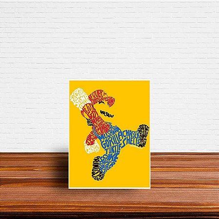 Azulejo Decorativo Abstrato Mario
