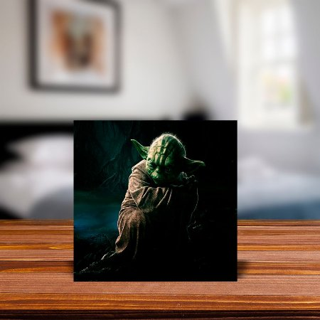 Azulejo Decorativo Yoda