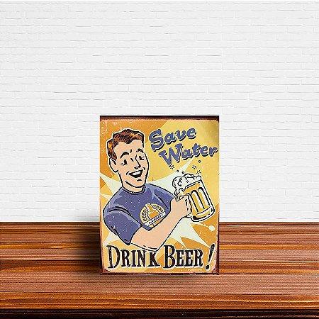 Azulejo Decorativo Drink Beer