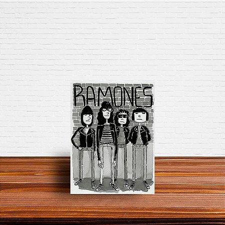 Azulejo Decorativo Ramones