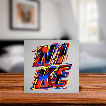 Azulejo Decorativo Nike