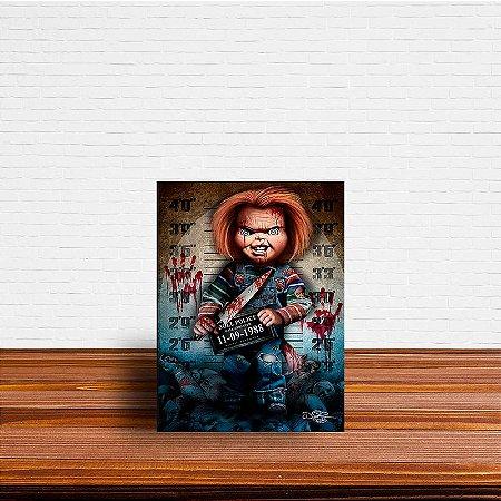 Azulejo Decorativo Chucky
