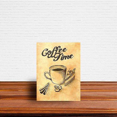 Azulejo Decorativo Coffe Time