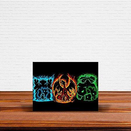 Azulejo Decorativo Pokemon Evoluções