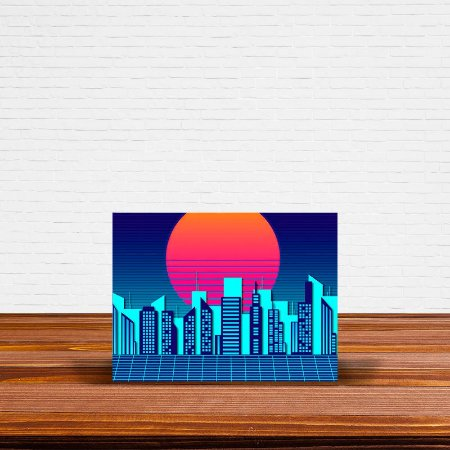 Azulejo Decorativo Vintage Cidade