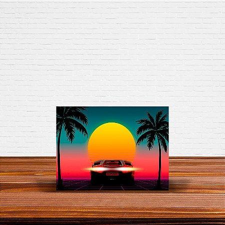Azulejo Decorativo Vintage Sunset