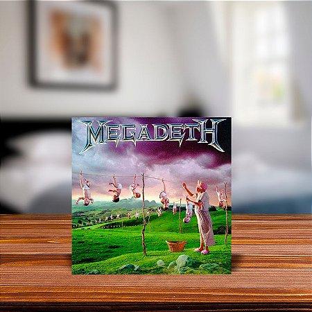 Azulejo Decorativo Megadeth Youthanasia