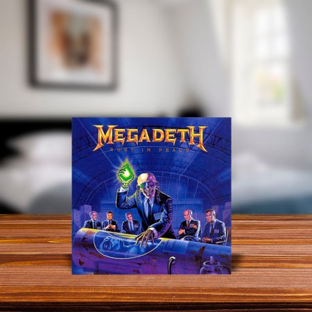 Azulejo Decorativo Megadeth Rust in Peace