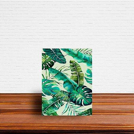 Azulejo Decorativo Folhas Aquarela