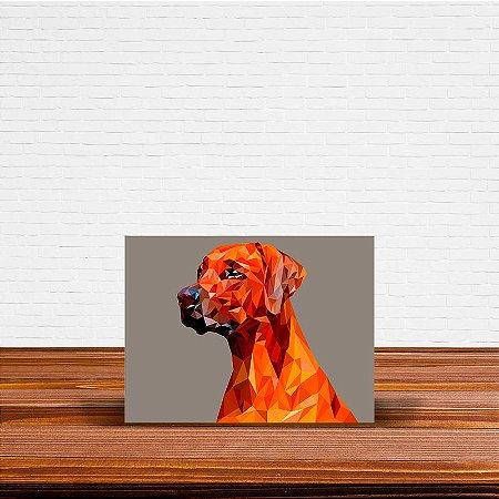 Azulejo Decorativo Geométrico Cão