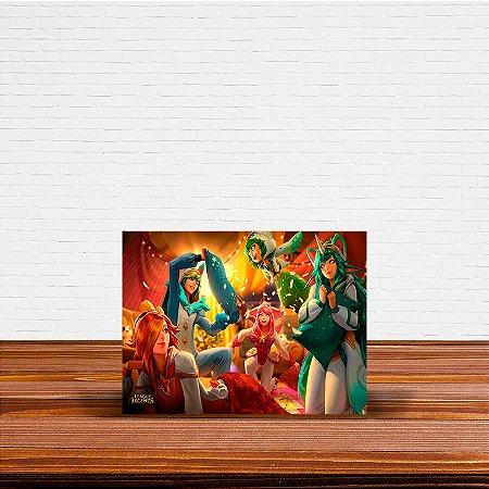 Azulejo Decorativo League Of Legends Skins Pijaminha