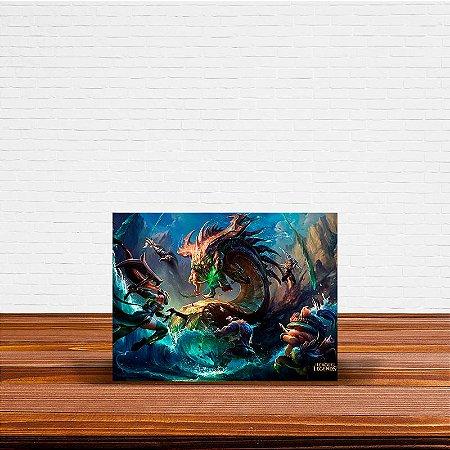 Azulejo Decorativo Baron League Of Legends
