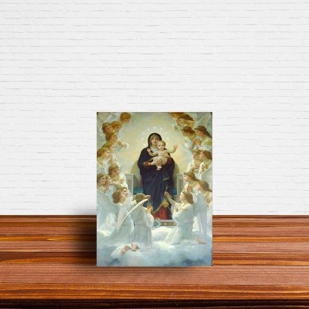 Azulejo Decorativo A Rainha Dos Anjos