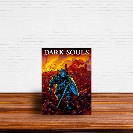 Azulejo Decorativo Dark Souls