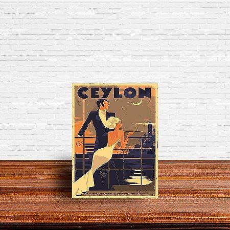 Azulejo Decorativo Ceylon